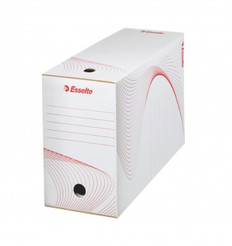 Archivační krabice Esselte - 15,0 x 24,5 x 34,5 cm, bílá