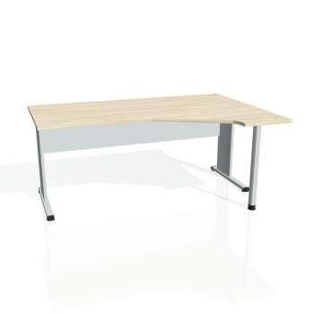 Psací stůl Hobis PROXY PEV 1800 levý, akát/šedá