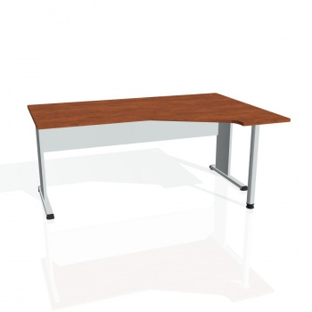 Psací stůl Hobis PROXY PEV 1800 levý, calvados/šedá