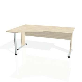 Psací stůl Hobis PROXY PEV 1800 pravý, akát/akát