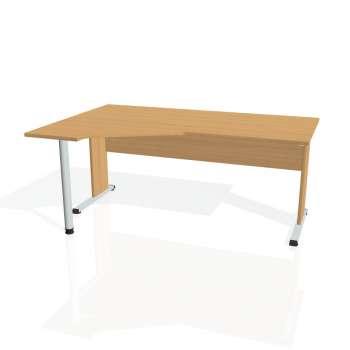 Psací stůl Hobis PROXY PEV 1800 pravý, buk/buk
