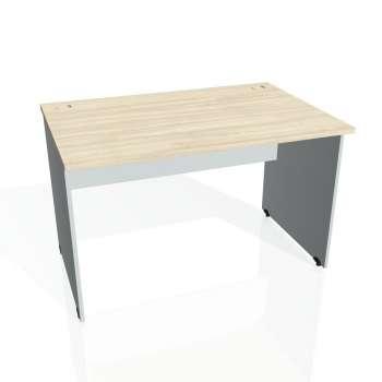 Psací stůl Hobis GATE GS 1200, akát/šedá