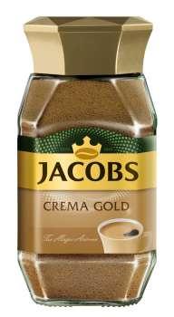 Instantní káva Jacobs Gold Crema - 200 g