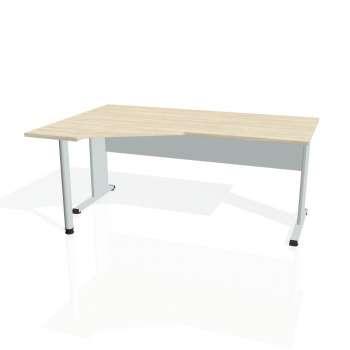 Psací stůl Hobis PROXY PEV 1800 pravý, akát/šedá