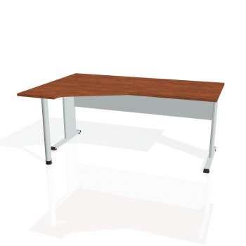 Psací stůl Hobis PROXY PEV 1800 pravý, calvados/šedá
