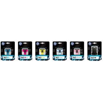 Cartridge HP C8721EE/363 - černá