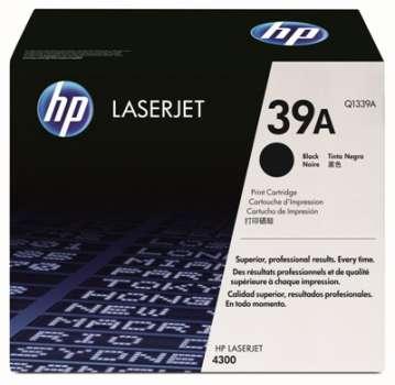 Toner HP Q1339A - černá