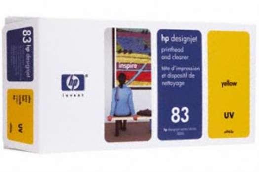 Tisková hlava a čistič tiskové hlavy HP C4963A/83 - žlutá