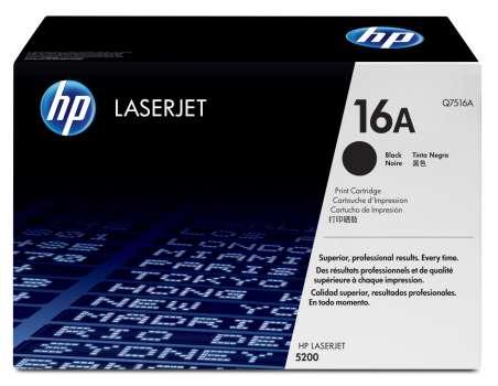 Toner HP Q7516A/16A - černý