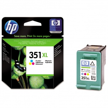 Cartridge HP CB338EE/351XL - tříbarevná