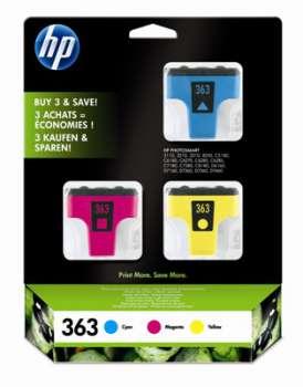 Cartridge HP CB333EE/363, tříbarevná