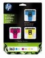 Cartridge HP CB333EE, č. 363, 3 barvy