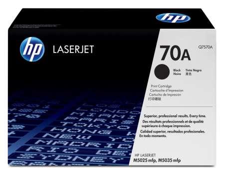 Toner HP Q7570A/70A - černá