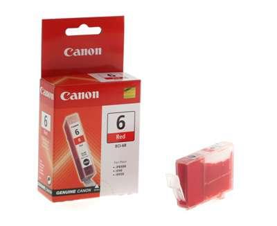 Cartridge Canon BCI-6R - červená