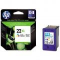 Cartridge HP C9352CE, č. 22XL - 3 barvy