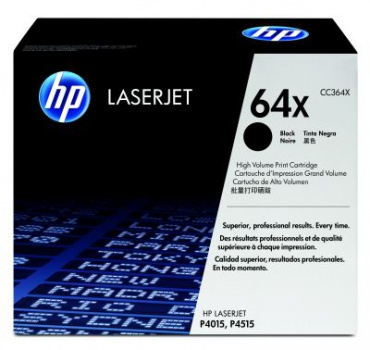 Toner HP CC364X/64X - černý