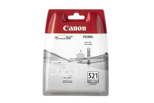 Cartridge Canon CLI-521GY - šedá