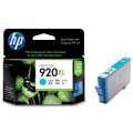 Cartridge HP CD972AE/920XL - azurová