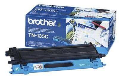 Toner Brother TN-135C - azurová