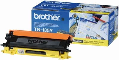 Toner Brother TN-135Y - žlutá