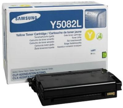 Toner Samsung CLT-Y5082L - žlutý