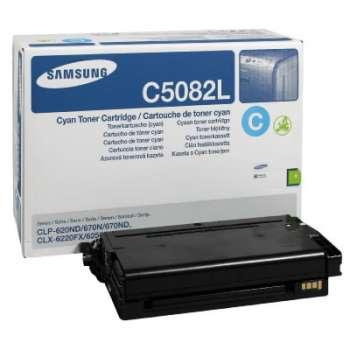 Toner Samsung CLT-C5082L - azurová