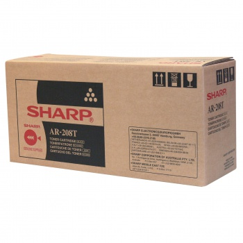 Toner Sharp AR-208T - černá