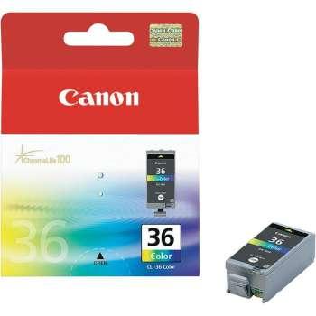 Cartridge Canon CLI-36 - tříbarevná