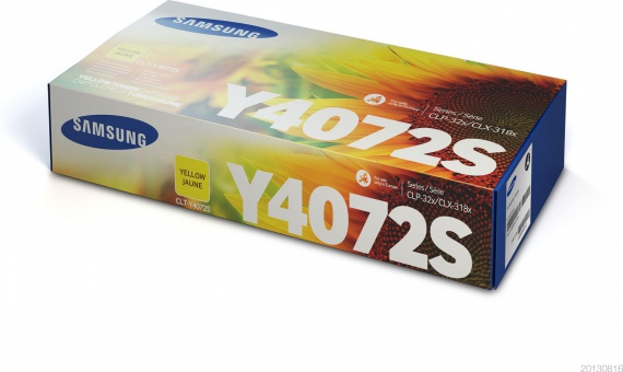Toner Samsung CLT-Y4072S - žlutá