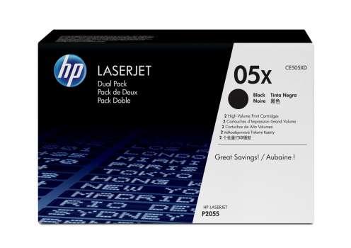 Toner HP CE505XD/05X - černá