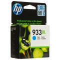 Cartridge HP CN054AE, č. 933XL - azurový