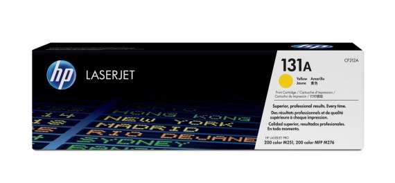 Toner HP CF212A/131A - žlutá