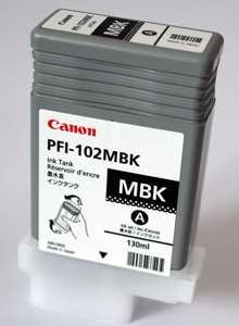 Cartridge Canon PFI-102MB - matná černá