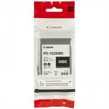 Cartridge Canon PFI102Bk - černá