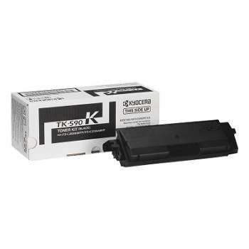 Toner Kyocera TK-590K - černá