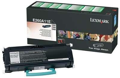 Kazeta tonerová Lexmark E260A11E, černá