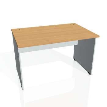 Psací stůl Hobis GATE GS 1200, buk/šedá