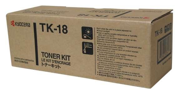 Toner Kyocera TK-18 - černý