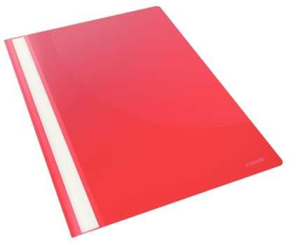Desky s rychlovazačem VIVIDA, červená , 25 ks