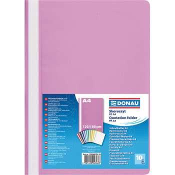 Rychlovazače DONAU A4, růžové, 10 ks