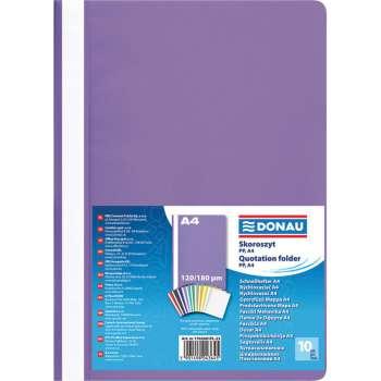 Rychlovazače DONAU A4, fialová , 10 ks