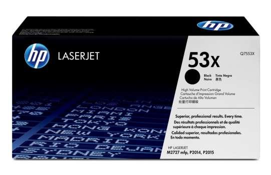 Toner HP Q7553X/53X - černá