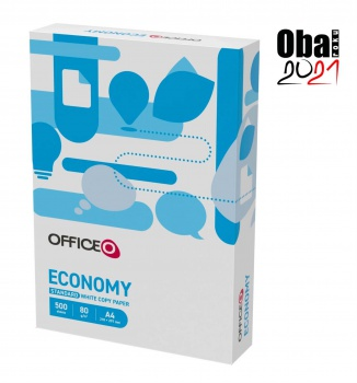 Kancelářský papír OFFICEO Economy A4 - 80 g/m2, CIE 146, 500 listů