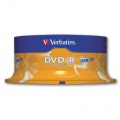 DVD-R Verbatim - cake box, 25 ks