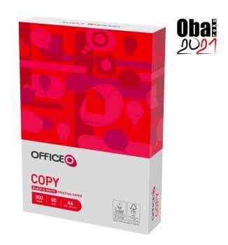 Kancelářský papír OFFICEO Copy A4 - 80 g/m2, CIE 153, 500 listů
