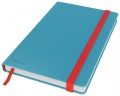 Zápisník Leitz Cosy - A5, linkovaný, hebké tvrdé desky, klidná modrá
