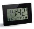 Digitální hodiny RC LCD - lesklé, černé
