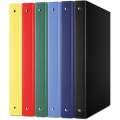 4kroužkový pořadač Donau - A4, 3,5 cm, mix barev