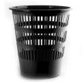 Odpadkový koš Donau - 16 l, plast, černý