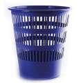 Odpadkový koš Donau - 12 l, plast, modrý